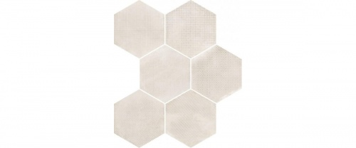 Equipe - Urban Hexagon Melange Natural 29,2x25,4 cm