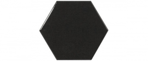 Equipe - Scale Hexagon Black  12,4x10,7
