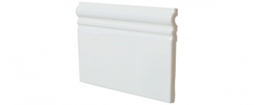 Equipe - Skirting Blanco Brillo 15x15