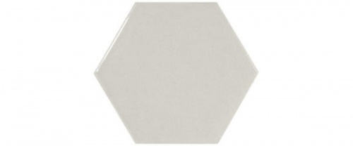 Equipe - Scale Hexagon Light Grey  12,4x10,7