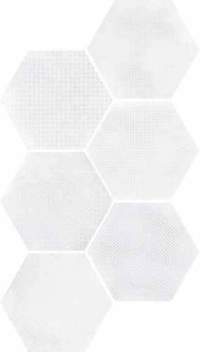 Equipe - Urban Hexagon Melange Light 29,2x25,4 cm      )