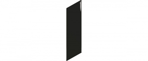 Equipe - Chevron Wall  Black Right  18,6x5,2