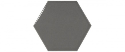 Equipe - Scale Hexagon Dark Grey  12,4x10,7