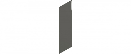 Equipe - Chevron Wall  Dark Grey  Right  18,6x5,2
