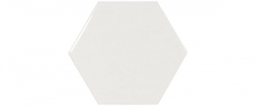 Equipe - Scale Hexagon White  12,4x10,7