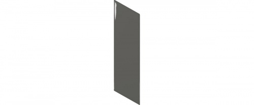 Equipe - Chevron Wall Dark Grey Left  18,6x5,2