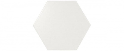 Equipe - Scale Hexagon White Matt 12,4x10,7