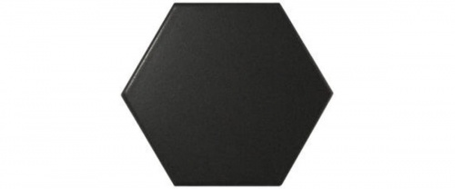 Equipe - Scale Hexagon Black Matt 12,4x10,7