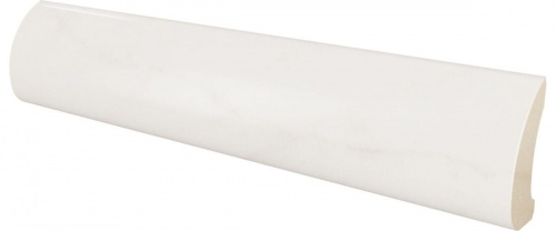 EQ - Pencil Bullnose 3,5x15 Carrara Gloss